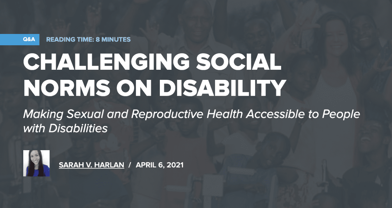 Challenging Social Norms on Disability